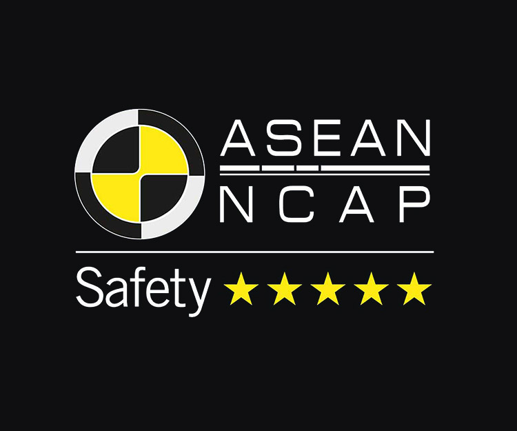 5-Star asean ncap safety rating