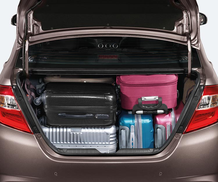 508 Litres of Luggage Space