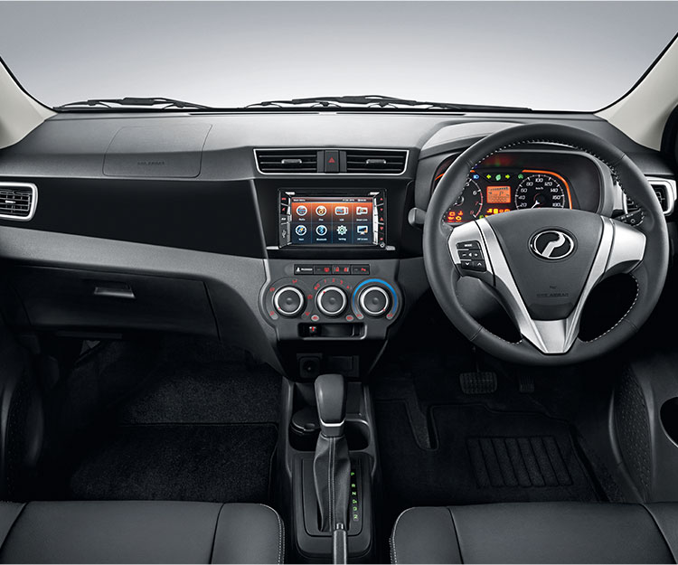 Front dashboard view
