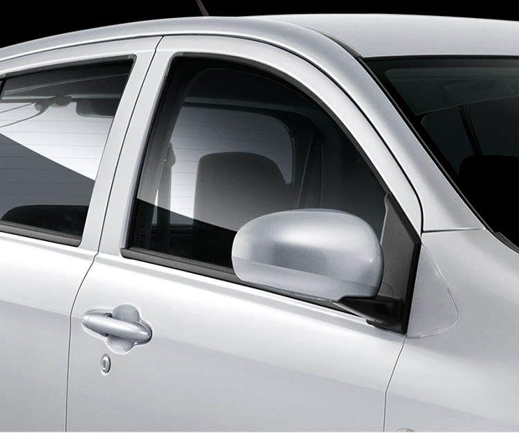Retractable Side Mirrors (electric)