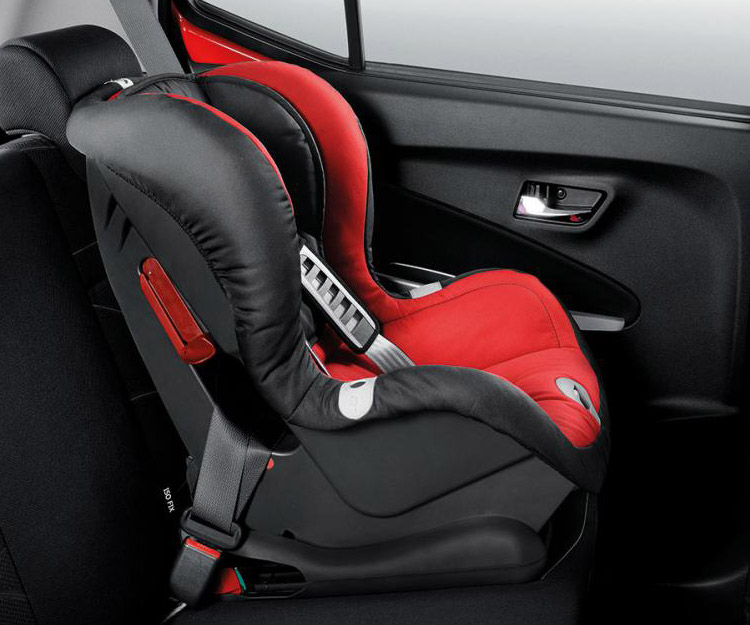 ISOFIX System with top Tether