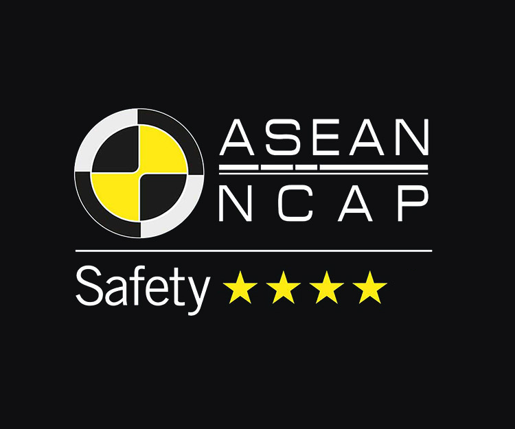 4-Star asean ncap <br /> safety rating