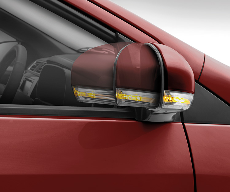 Electric Side Mirrors with Turn Signals