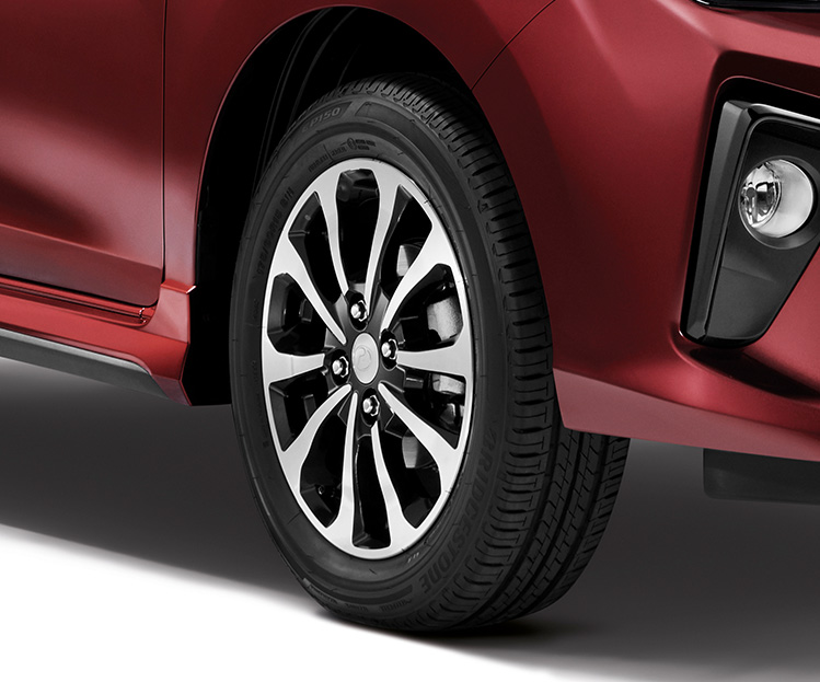New Two-Tone 15-Inch Alloy Rims