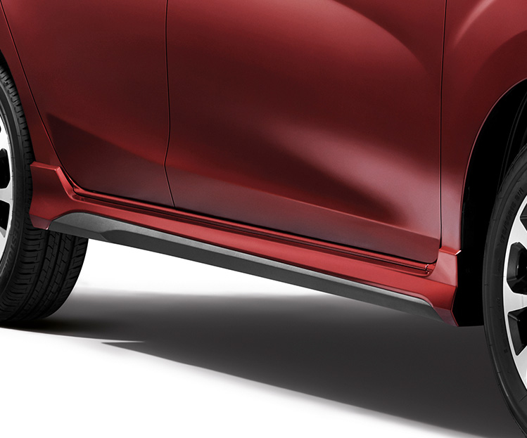 New Two-Tone Side Skirting