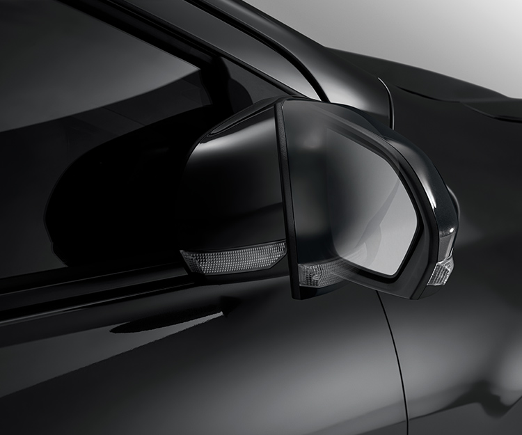 Retractable Side Mirrors with Turn Signals